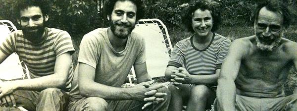 Con mi hermano Marc y nuestros padres, Judith y Harold Edelman en 1973.