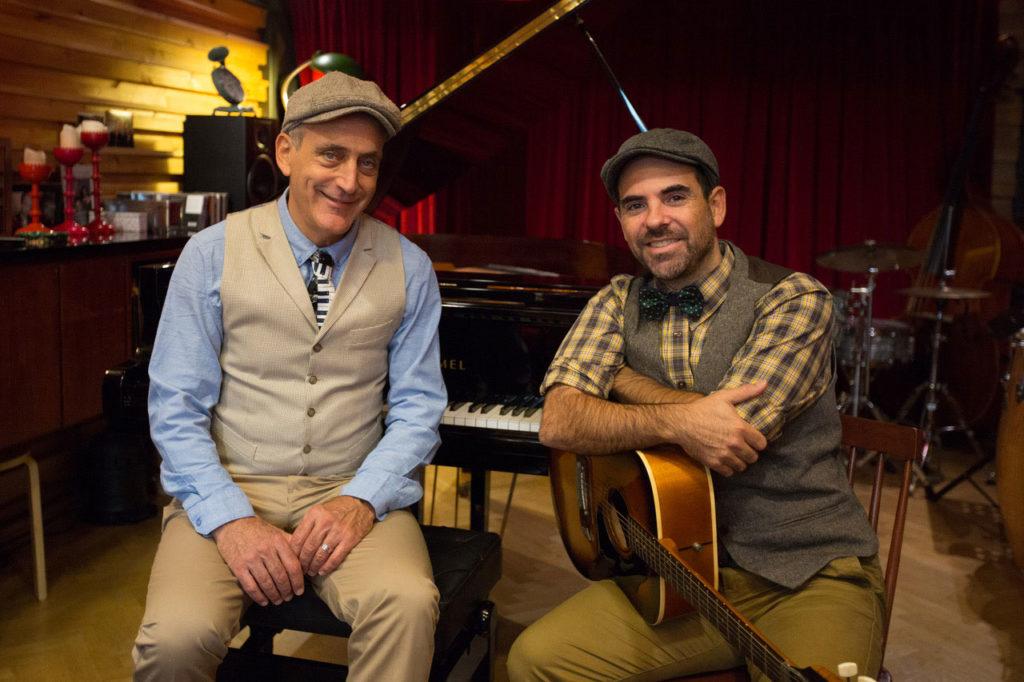 Joshua Edelman y Saúl Santolaria
